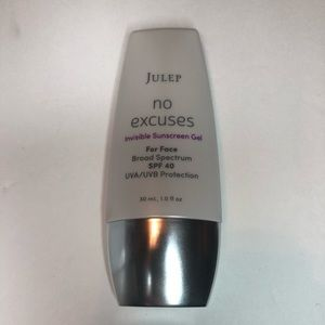 Julep no excuses invisible sunscreen